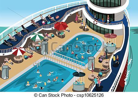 Cruise Clip Art Border.