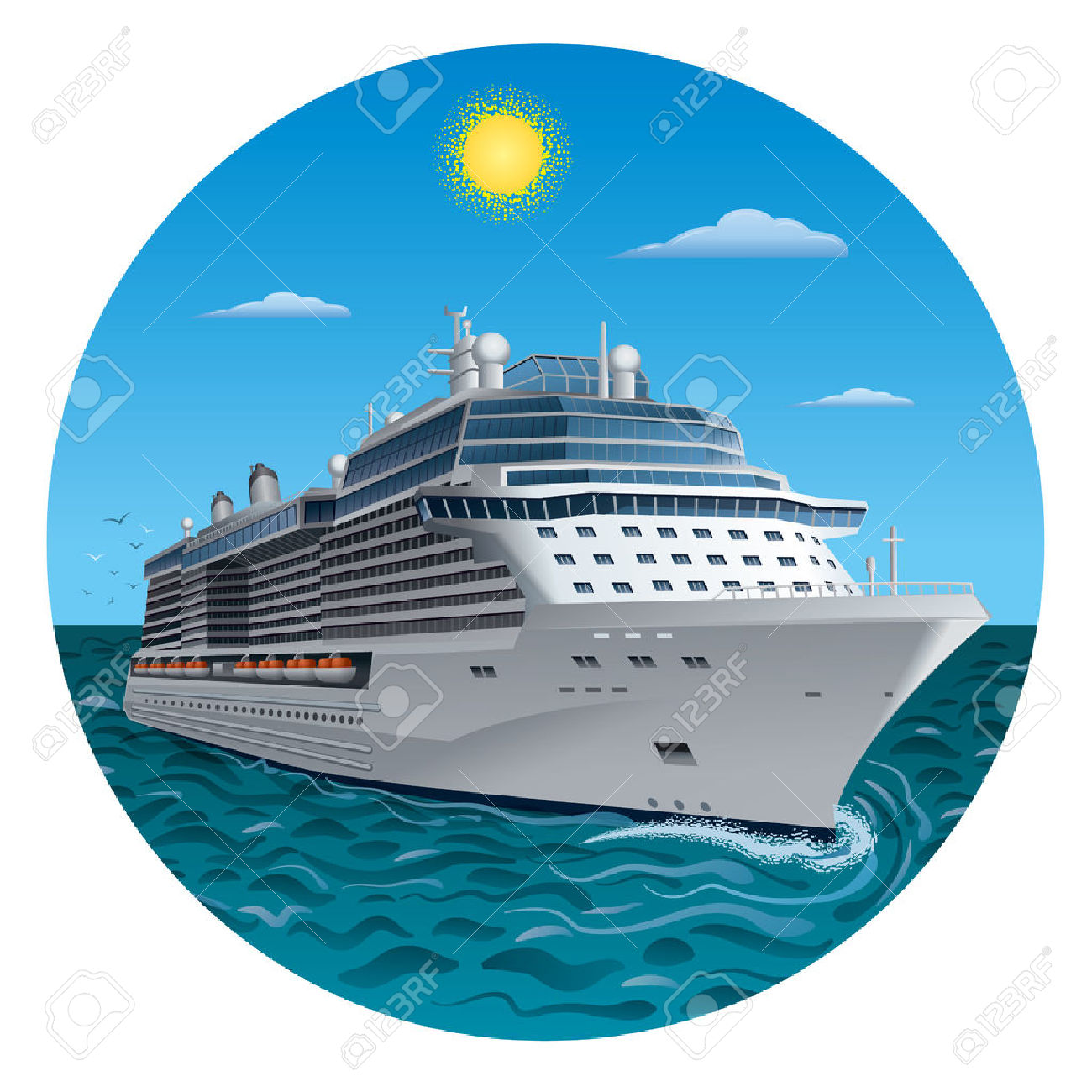 16,015 Cruise Holiday Stock Vector Illustration And Royalty Free.