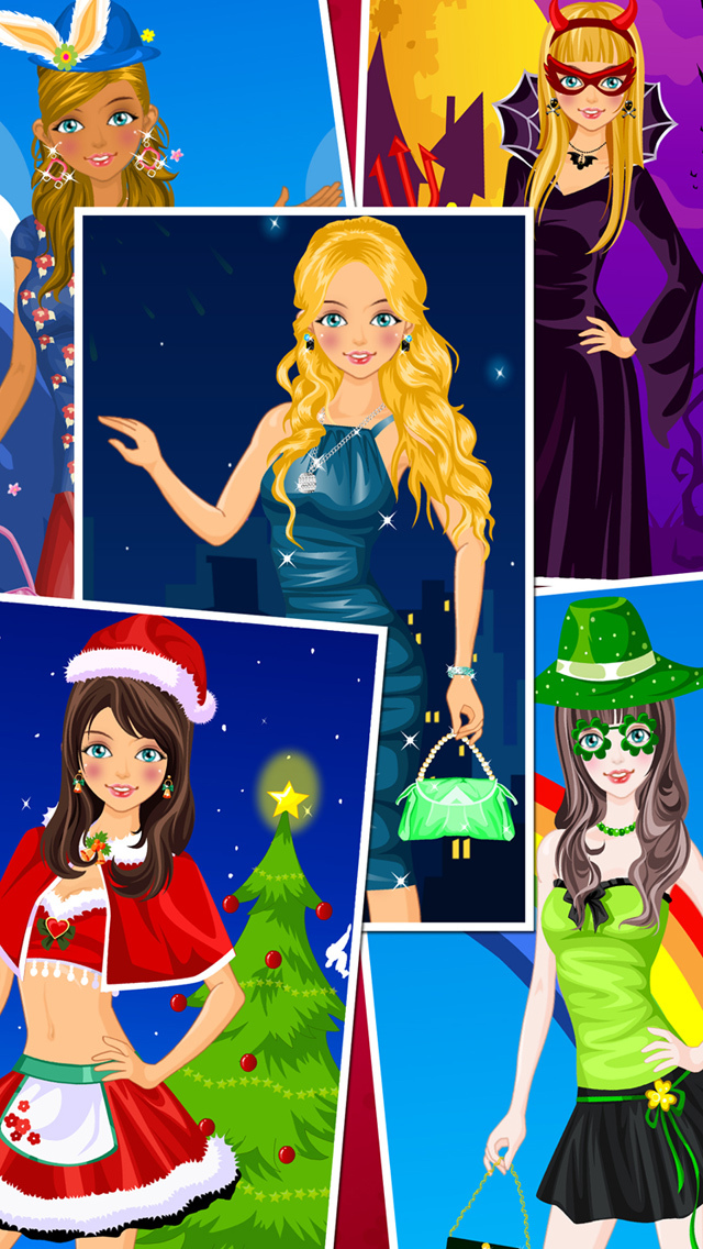 Holiday Dress Up Games.