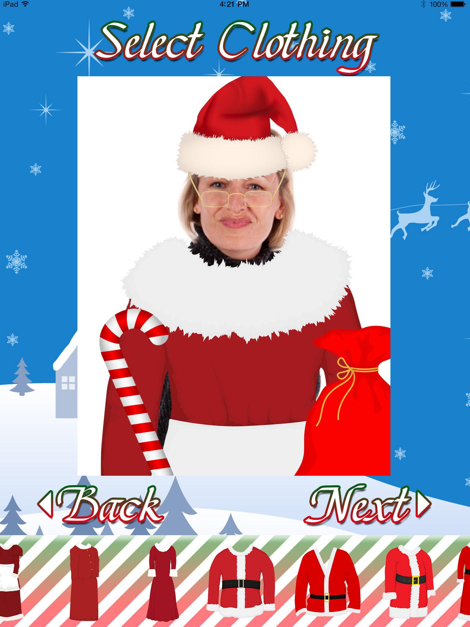 Santa Christmas Holiday Dress Up Photo Editor App Ranking and.
