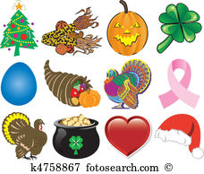 Holiday food Clip Art Illustrations. 40,795 holiday food clipart.