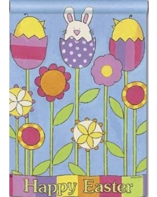 New Year Deal for Easter Garden Holiday Garden Flag.