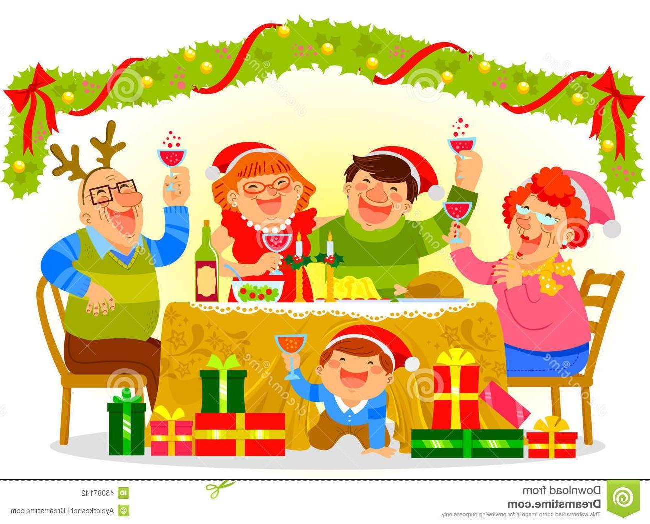 Top Christmas Gathering Clip Art Pictures » Free Vector Art.