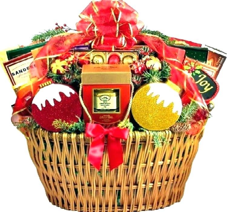 christmas food baskets.