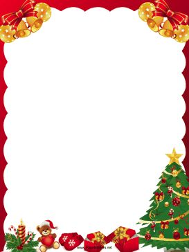 Holiday Gift Clipart Borders Free.