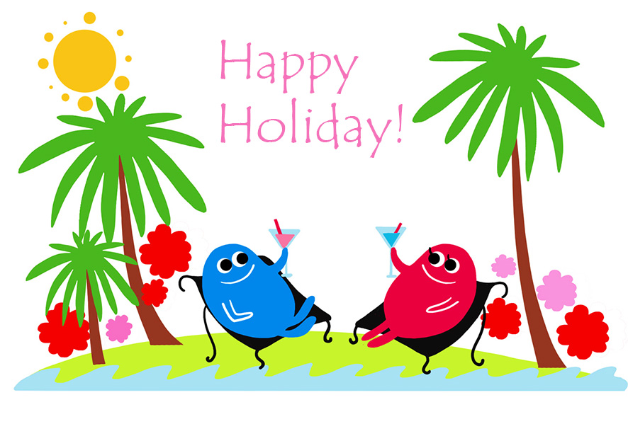 Clip Art Happy Holidays.