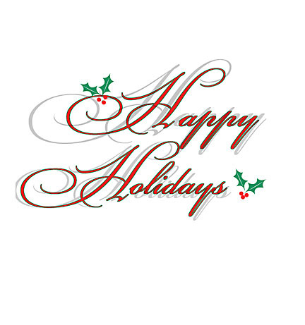 Christmas Email Signature Clipart.