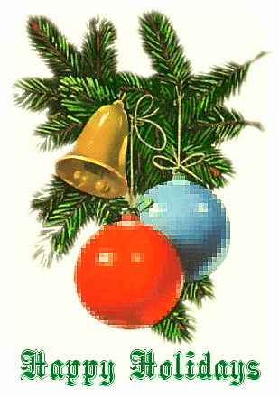 Free Christmas Greetings Clipart.