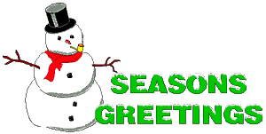 Free Christmas Greetings Clipart.