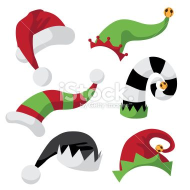 A collection of fun holiday hats.