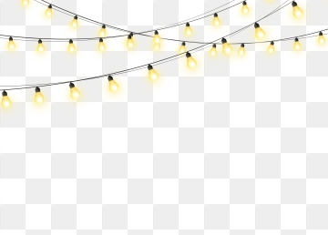 Holiday Lights PNG Images.