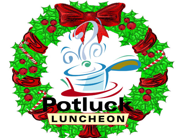 Holiday Lunch Clipart.