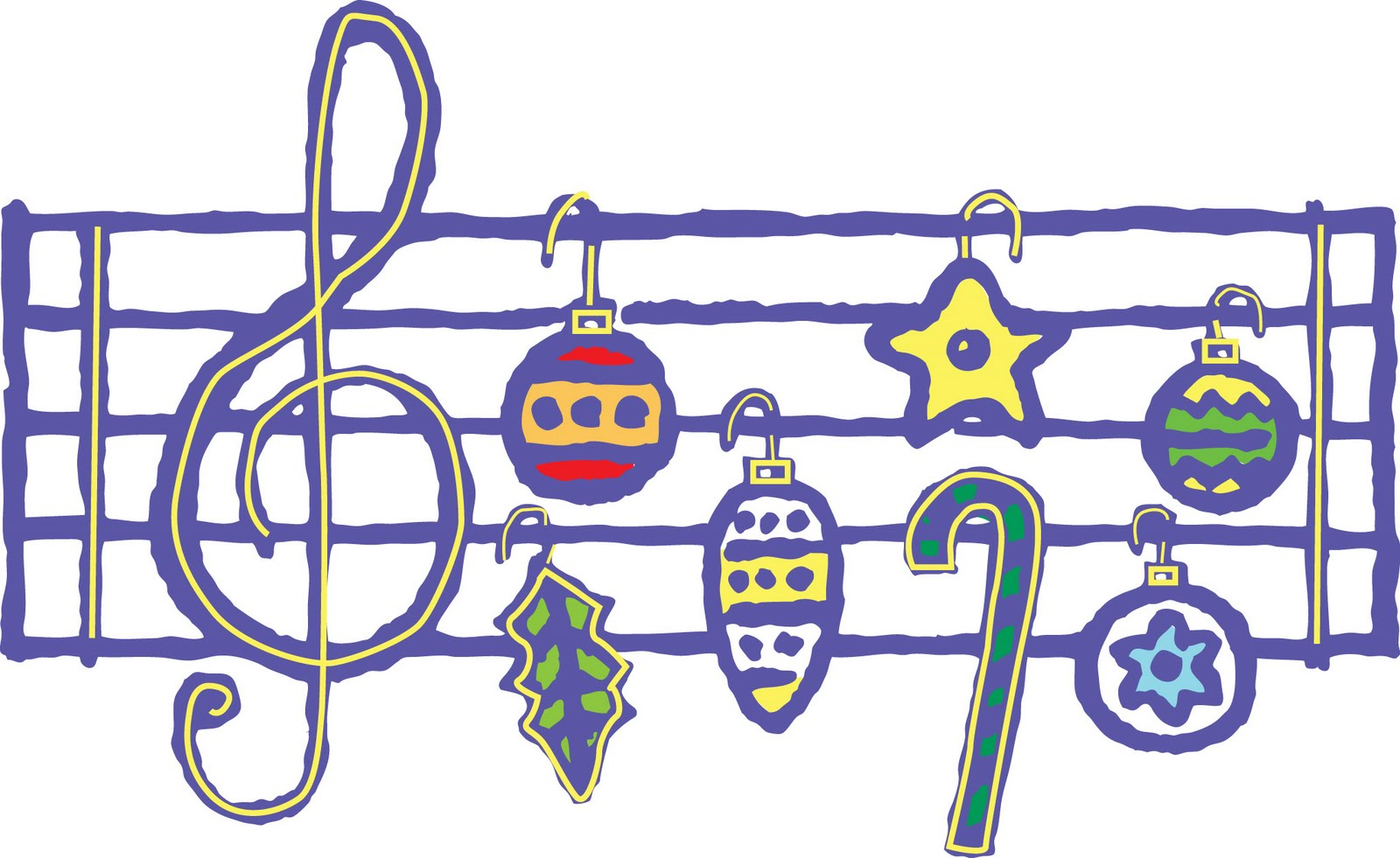 Music clipart holiday, Music holiday Transparent FREE for.