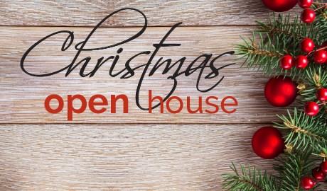 Christmas Open House.