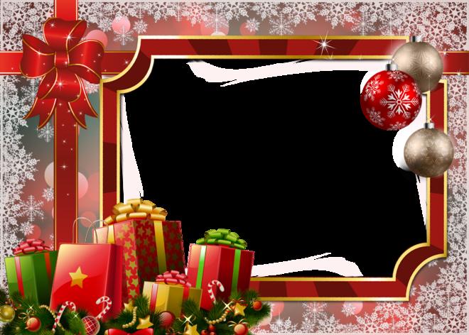 transparent holiday frames.