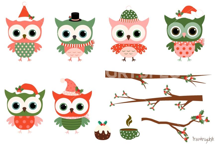 1118 Cute Owl free clipart.