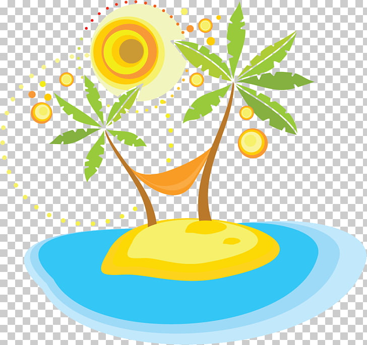 Holiday Summer vacation , palm tree PNG clipart.