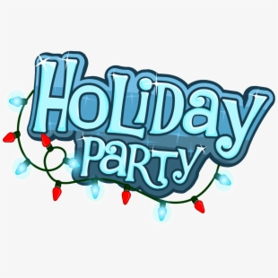 holiday party clipart.