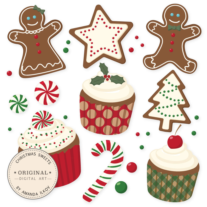 Holiday Pastries Clipart Clipground