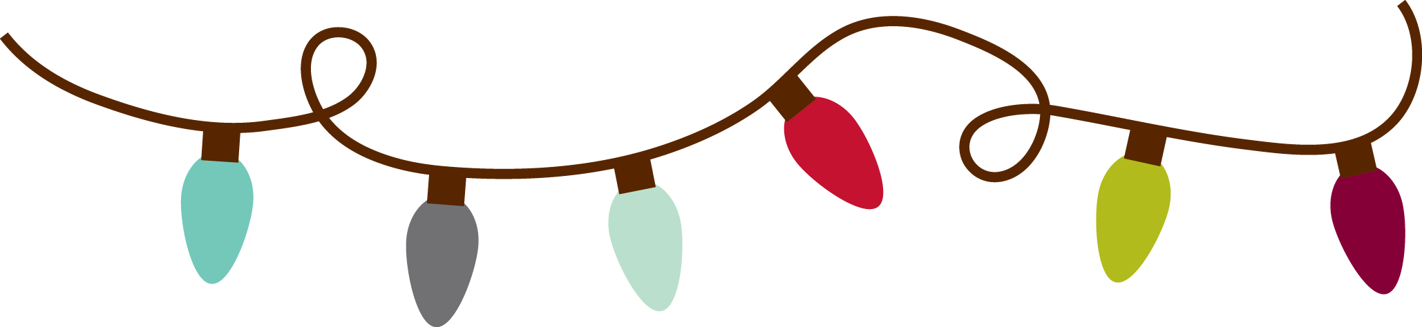 Holiday Borders Clip Art.