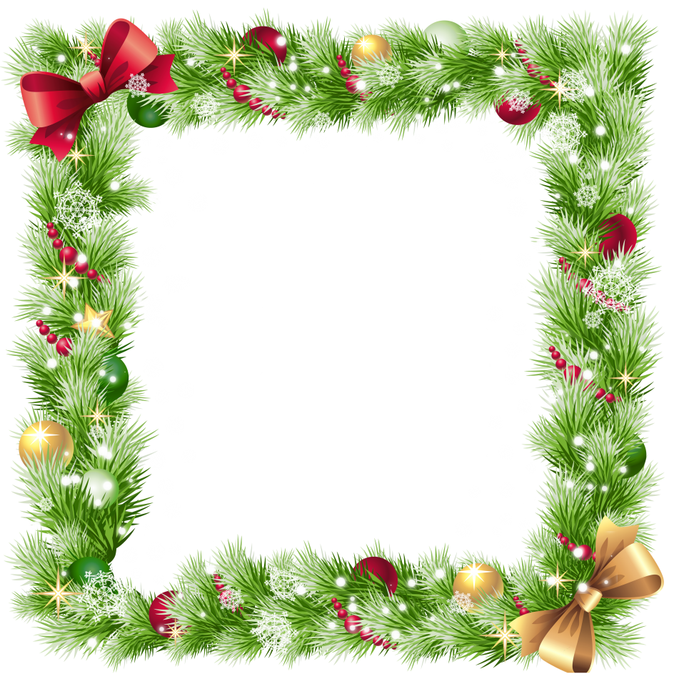 Holidays clipart picture frame, Holidays picture frame.