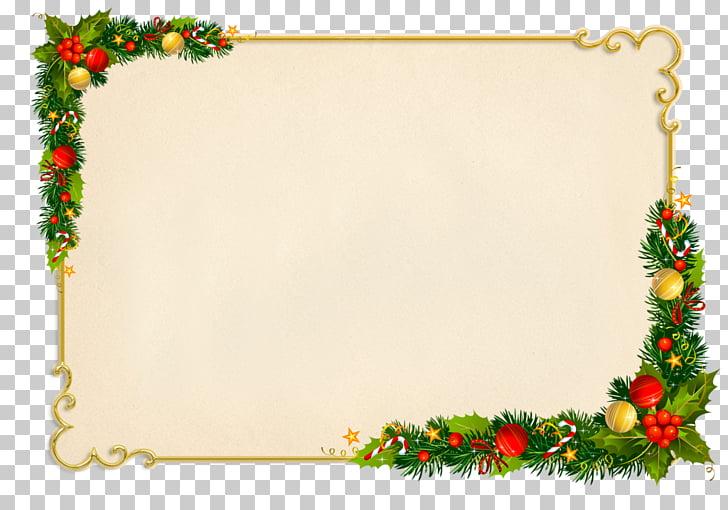 Christmas gift Frames Holiday, christmas PNG clipart.