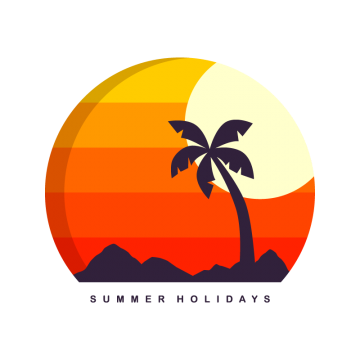 Summer Holiday Png, Vector, PSD, and Clipart With Transparent.