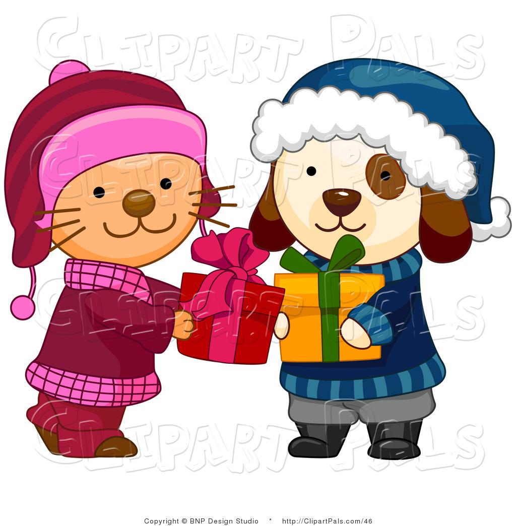 Clip Art Christmas Presents.