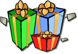 Free Christmas Presents Clipart.
