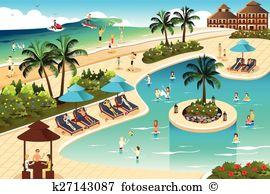 Holiday resort Clipart Royalty Free. 12,826 holiday resort clip.