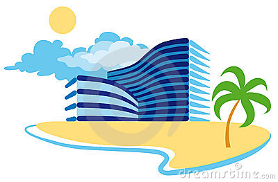 Resort Clip Art.
