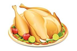 Clipart Roast Chicken.