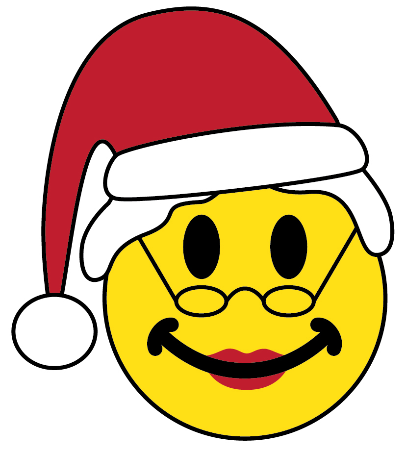Holiday Smiley Faces.
