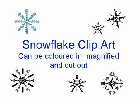 Free Clipart Snowflake.