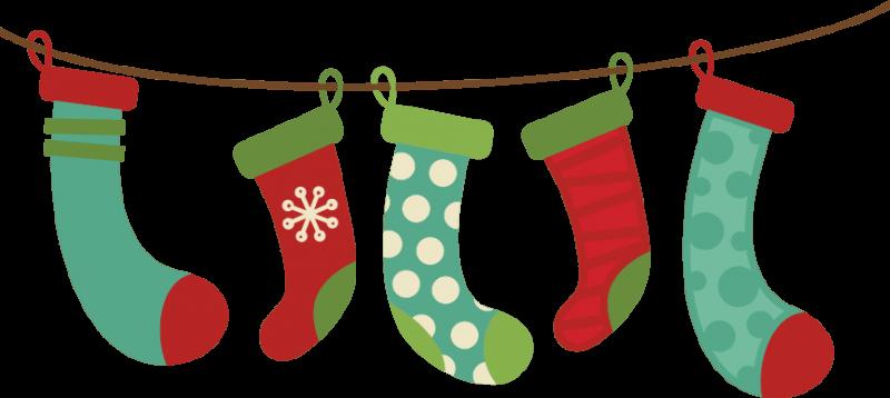 Christmas Socks Cliparts.