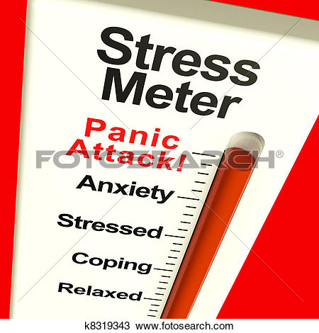 Clipart of Stress At Work k13261711.