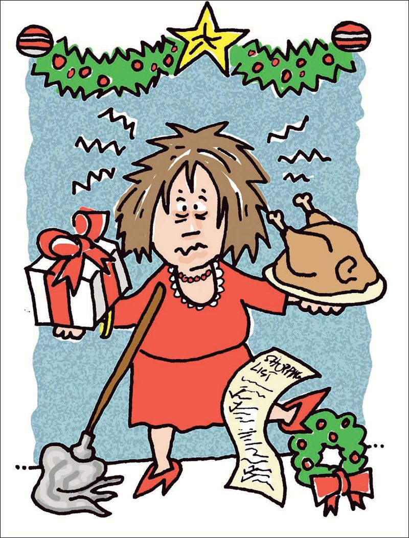 Showing post & media for Cartoons about holiday stress.