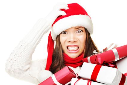 Holiday Stress Clipart.