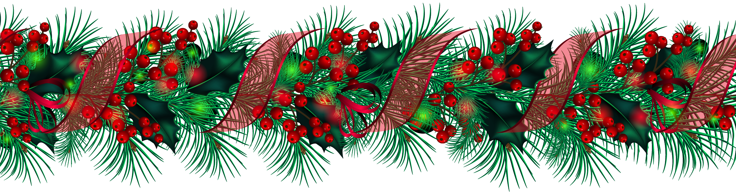 Christmas Greenery Clipart.