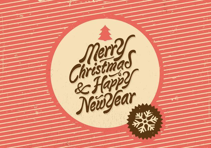 Christmas and New Year Vector Holiday Vector.