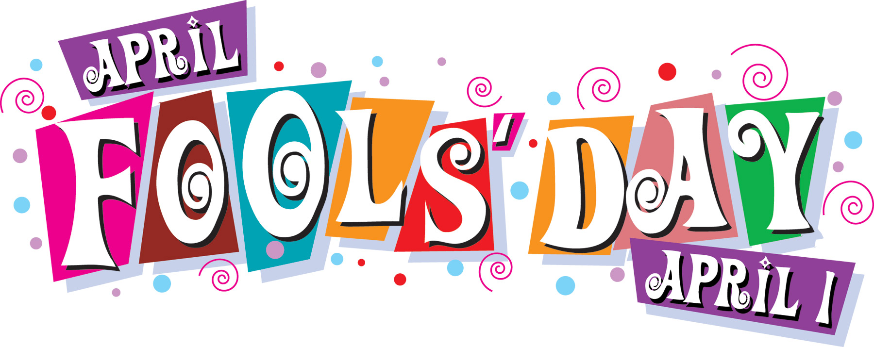 April Holiday Clipart.