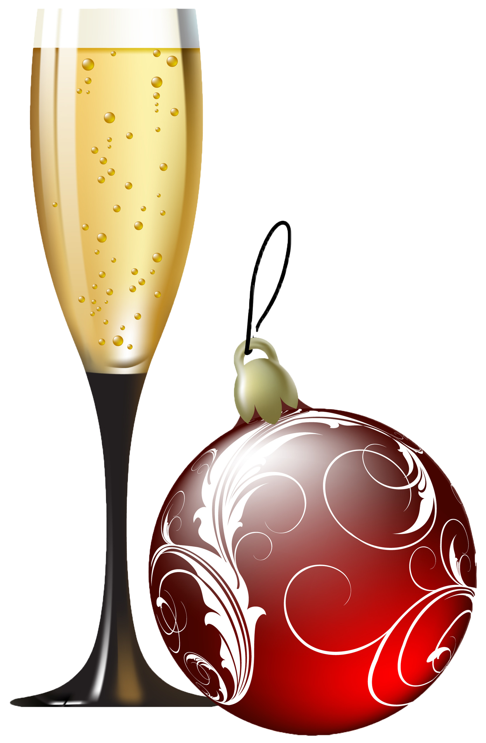 Champaign clipart holiday wine, Champaign holiday wine Transparent.