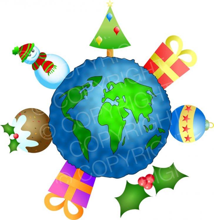 Holidays Around The World Clipart.