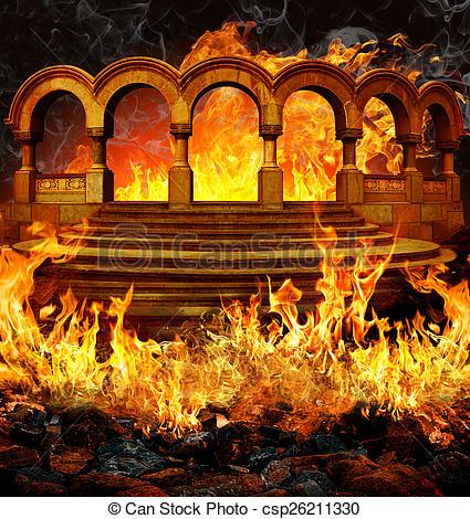 Stock Fotos von Hölle.