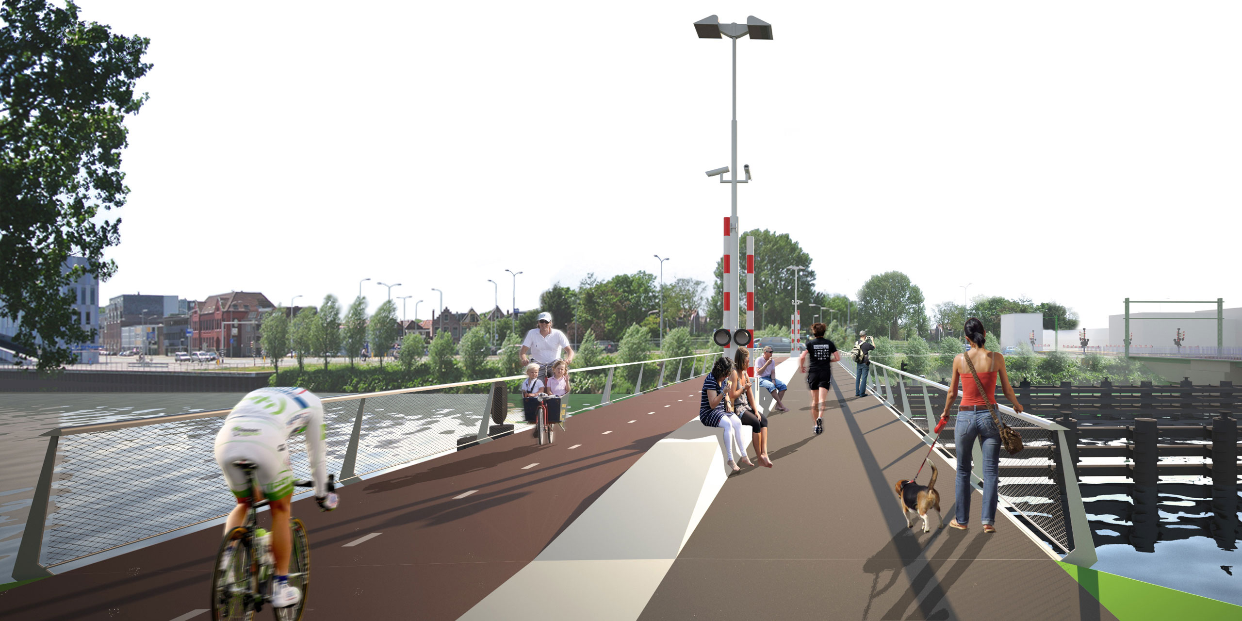 Project Victory Bridge Alkmaar.