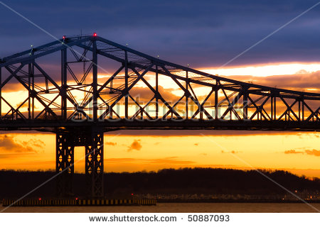Tappan Zee Bridge Stock Photos, Royalty.