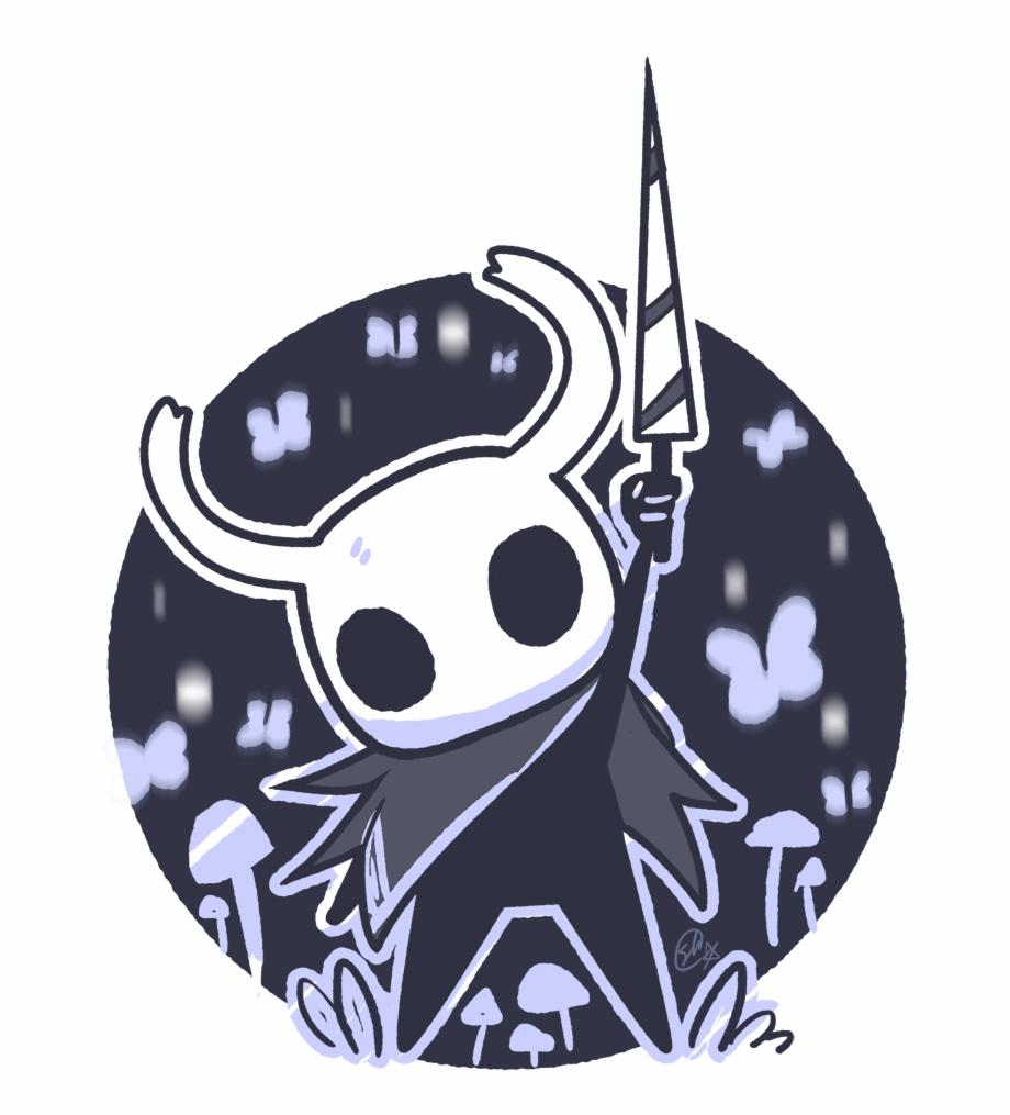 The Hollow Knight Illustration.