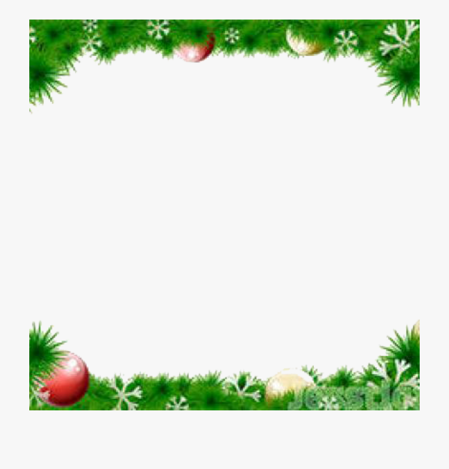 Free Png Christmas Borders.