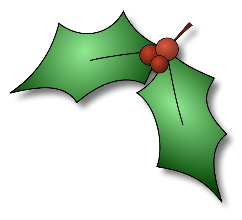 Free Pictures Of Christmas Holly, Download Free Clip Art.