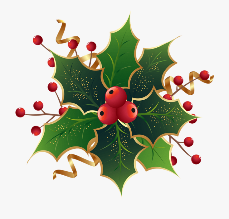 3519 Holly free clipart.